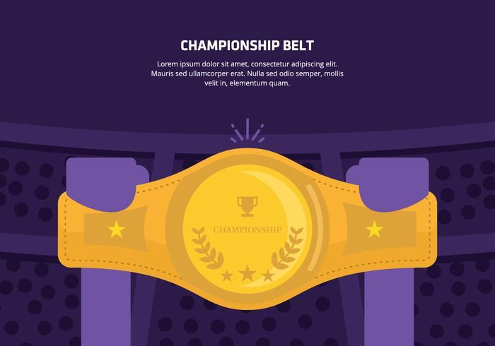 Championship Belt Background