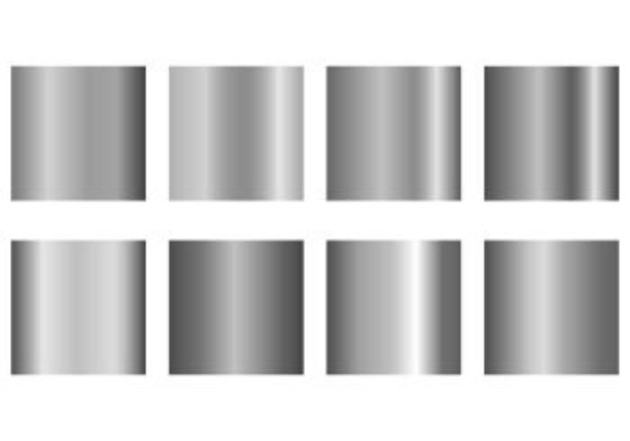 Set Of Grey Gradient Vectors