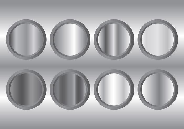 metal grey gradient icons vector download free vector art stock