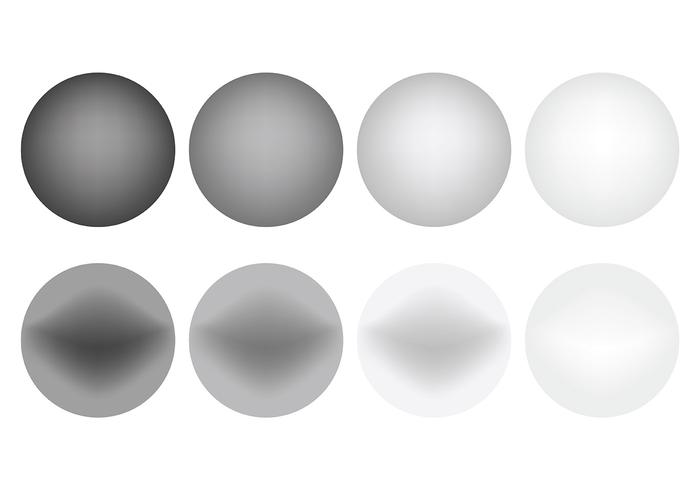 Free Vector Grey Gradient Icons
