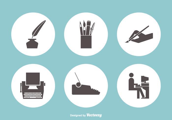 Schrijven Vector Icons