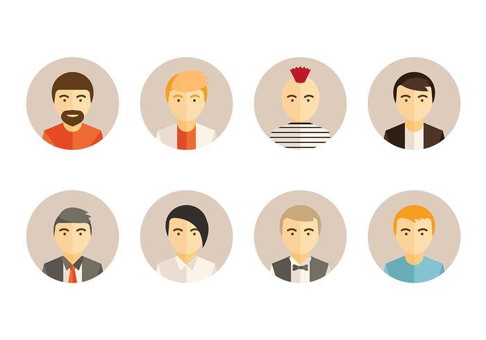 Personas Potrait Vector Icon