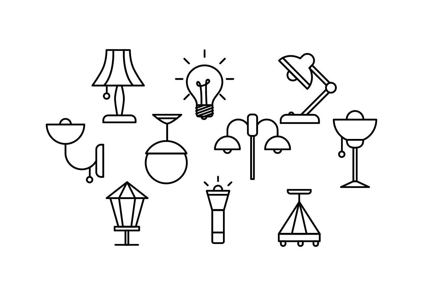lamp free vector art 19148 free downloads
