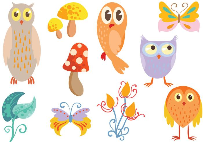 Free Enchanted Forest Vectors