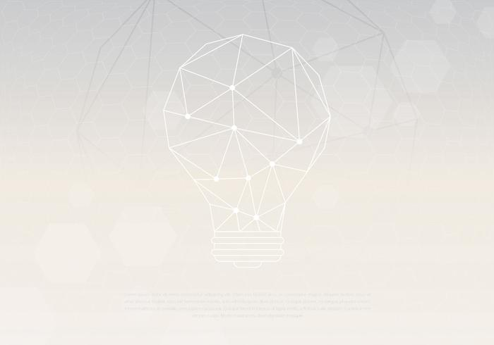 White Tecnologia Background Template