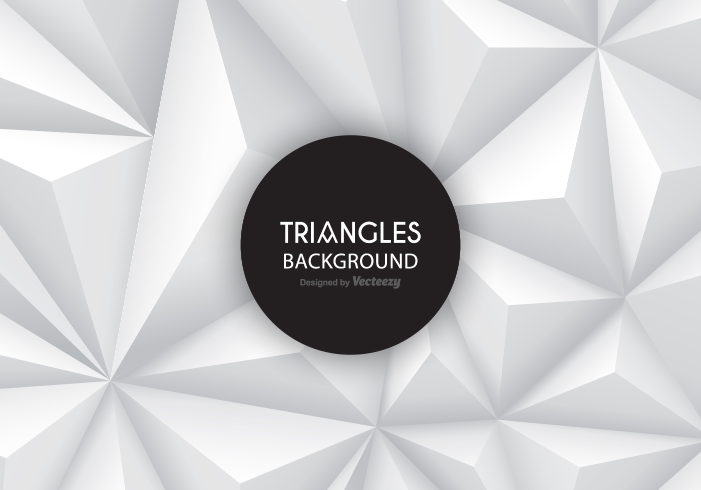 grey gradient triangles vector background download free