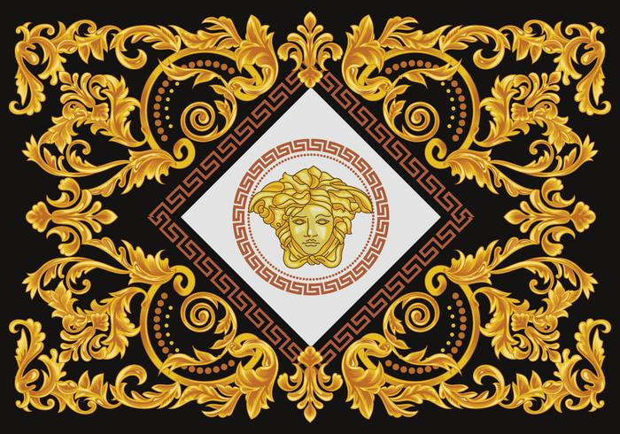 Diamond Versace Vector