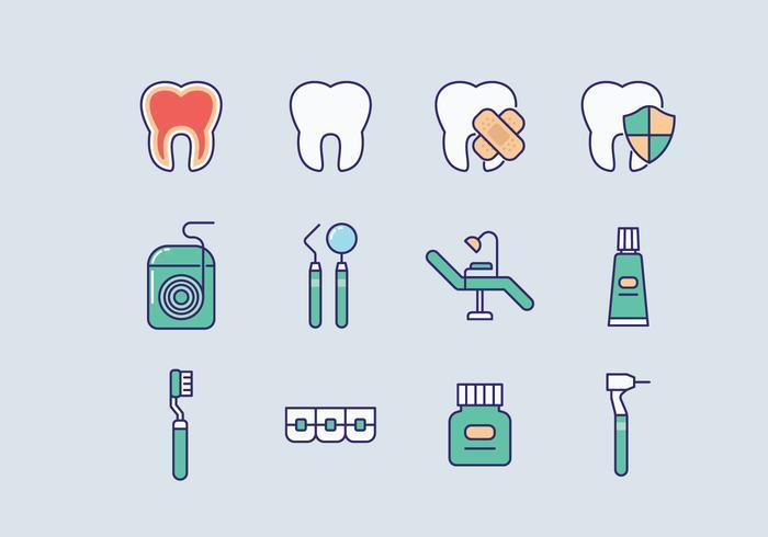 Vector libre del dentista
