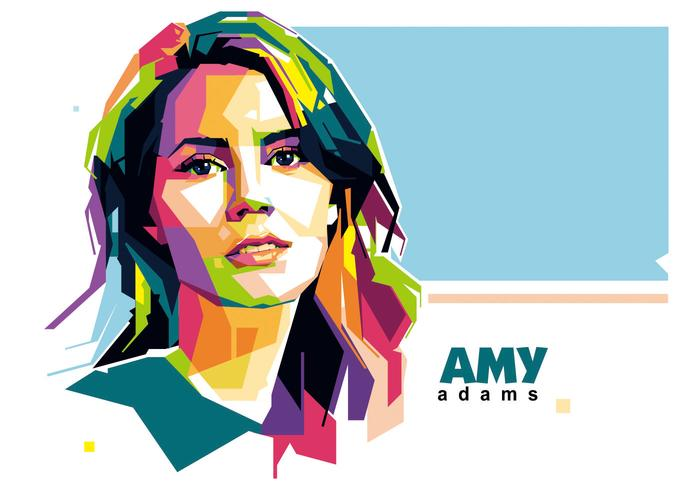 Amy Adams WPAP Vektor