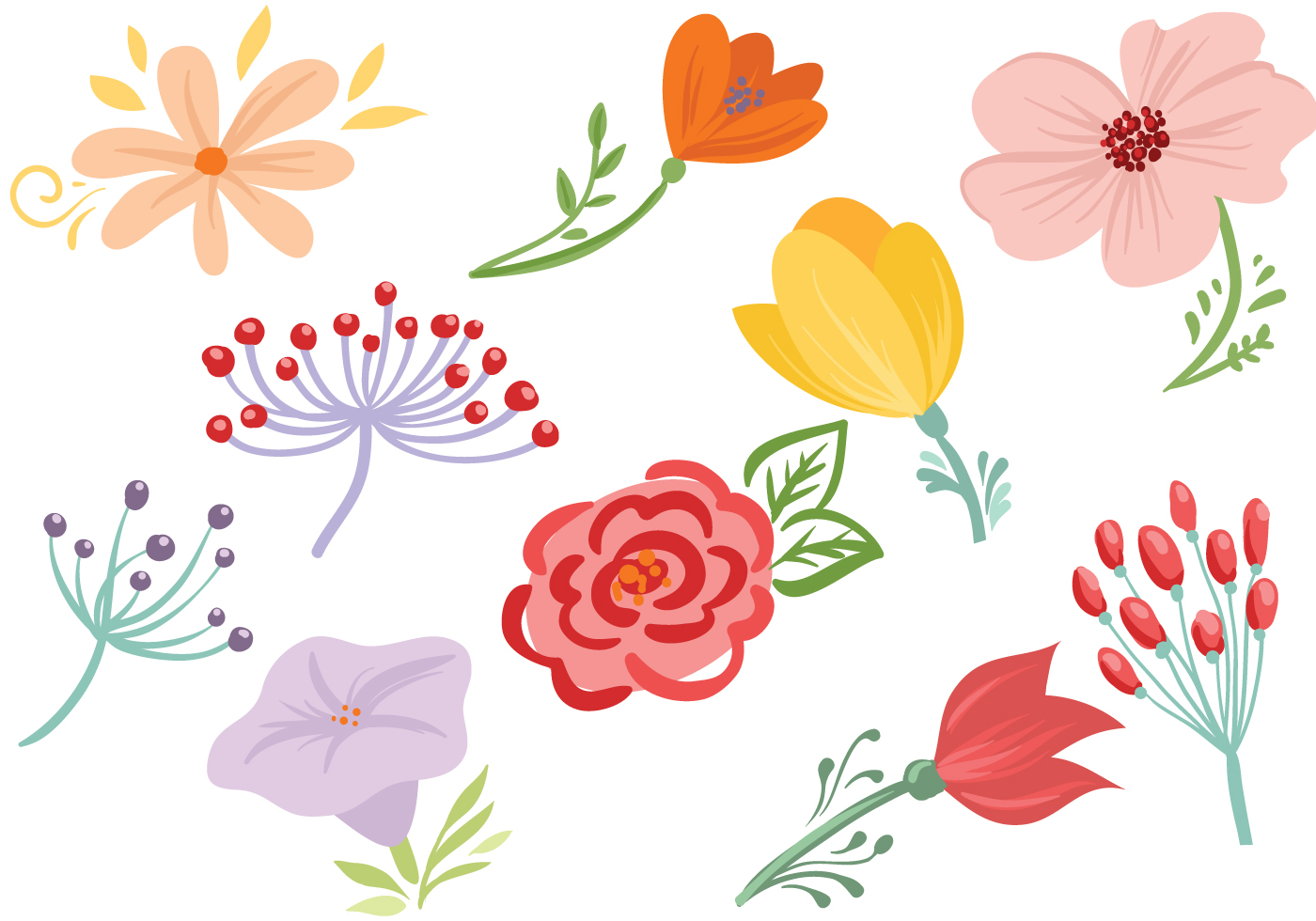 花朵卡通 免費下載 | 天天瘋後製