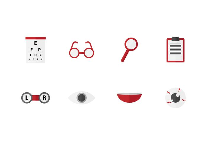 Free Eye Doctor Vector Icons