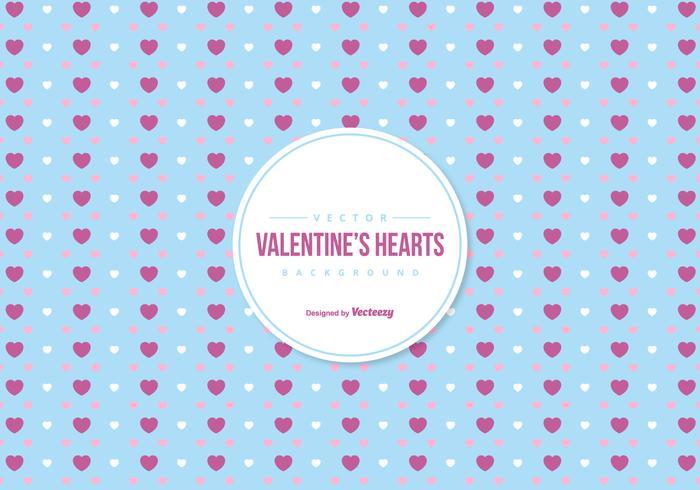 Fundo colorido do Valentim dos corações