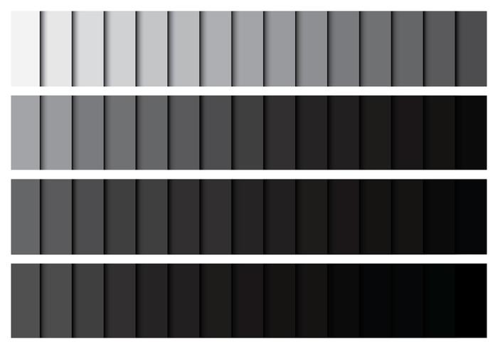 Grey Gradient Palette
