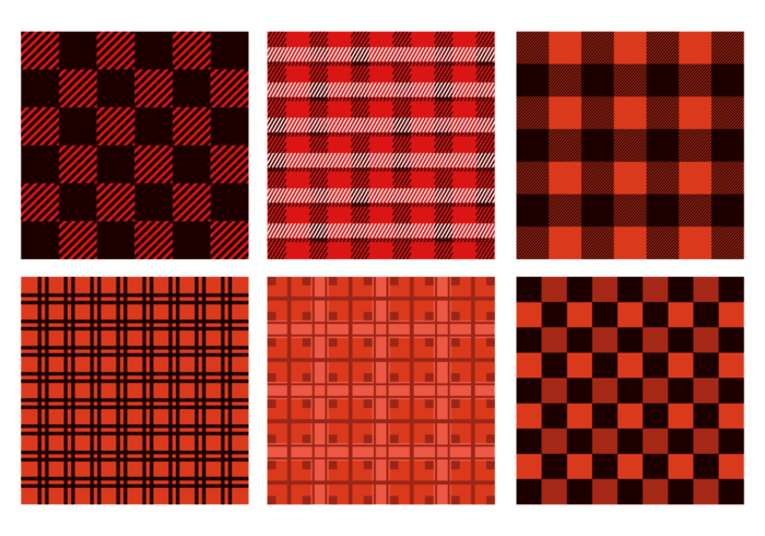 Seamless Flannel Pattern Vector