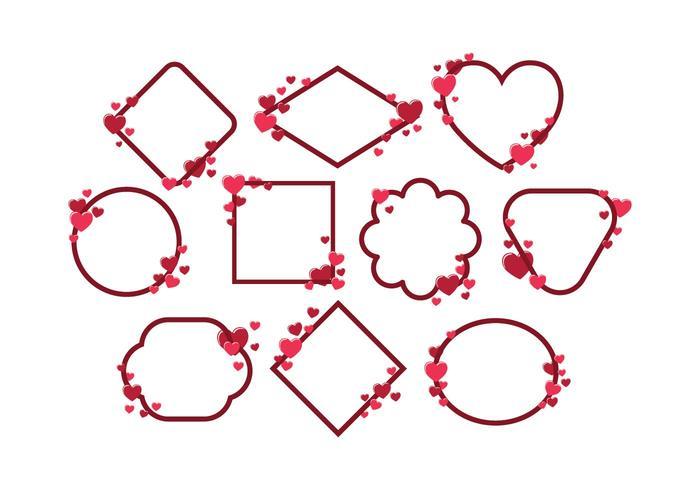 Free Valentines Frame Vector