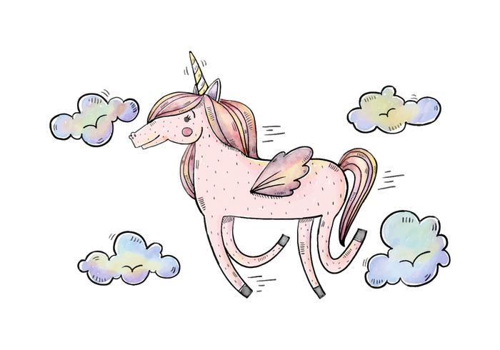 Gratis Unicorn Illustratie