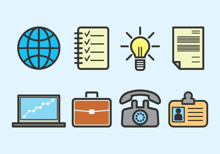 Outline Business Vector Icons