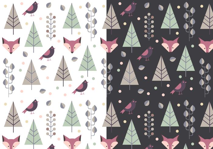 Gratis Animal Winter Pattern