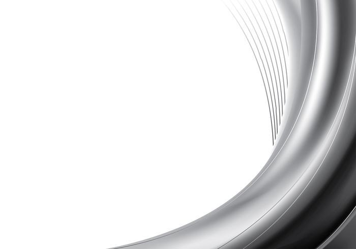 Grey Gradient Streamline Elegant Vector