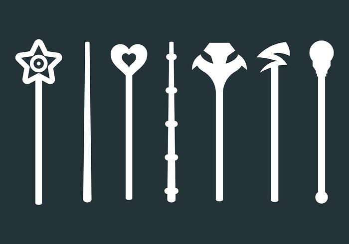Free Magic Stick Icons Vector