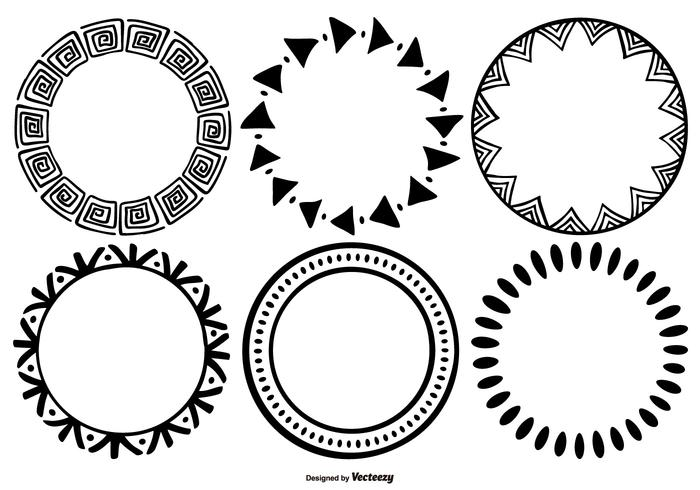 geometric shapes design vector