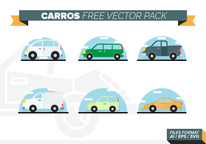 Carros Free Vector Pack