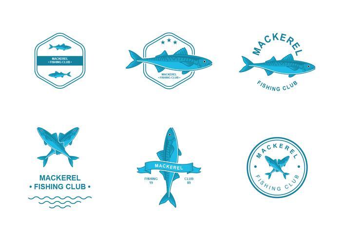 Mackerel Logo Design vector