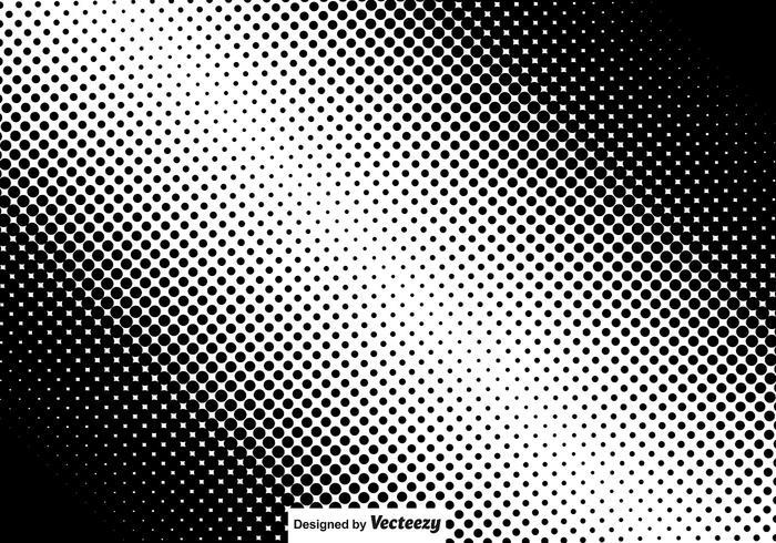 Diagonal Halftone Vector