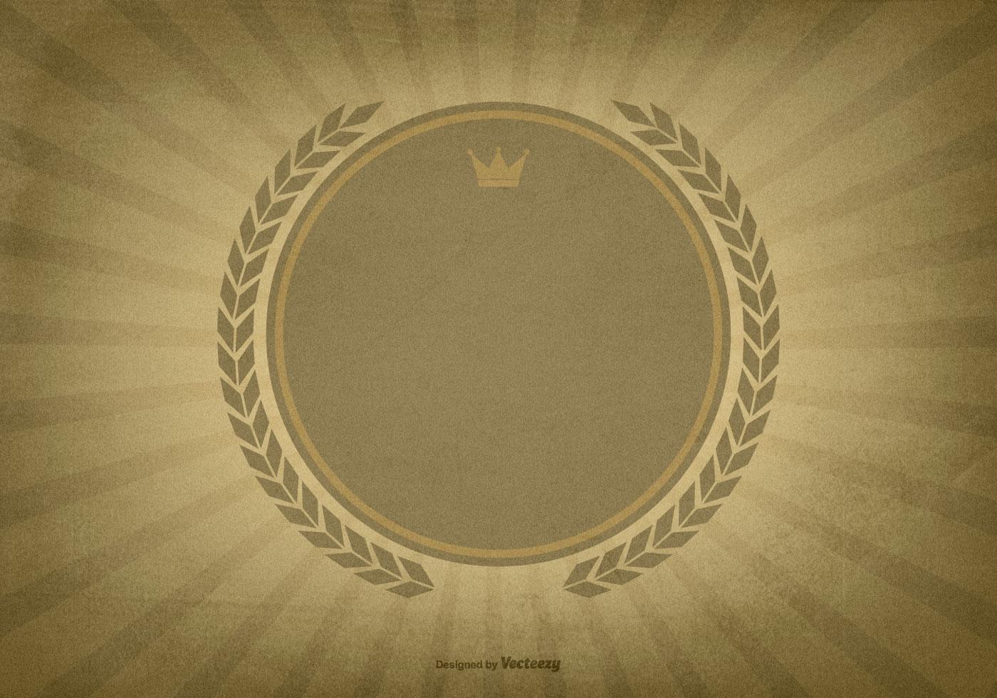 textured sunburst background wblank label download free