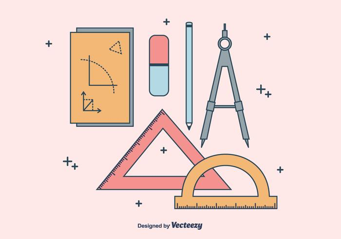 Geometry And Mathematics Tool Set Vector