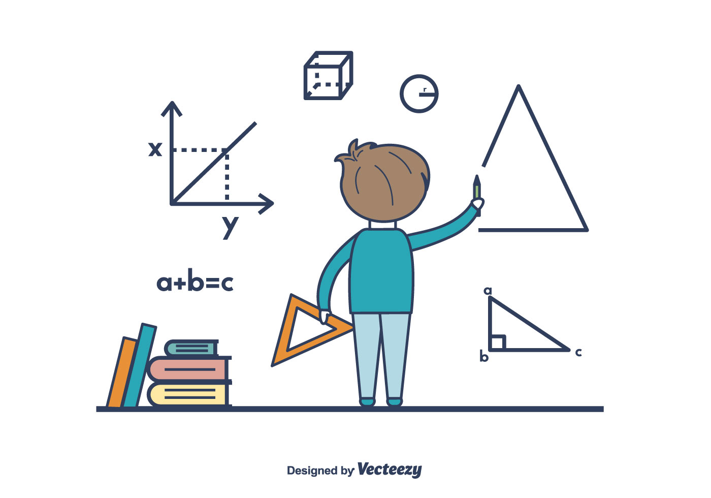 Boy doing math vector download free vector art stock graphics boy doing math vector download free vector art stock graphics images buycottarizona Image collections
