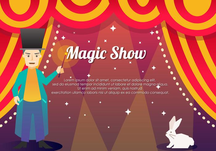 Magic Template Show Achtergrond