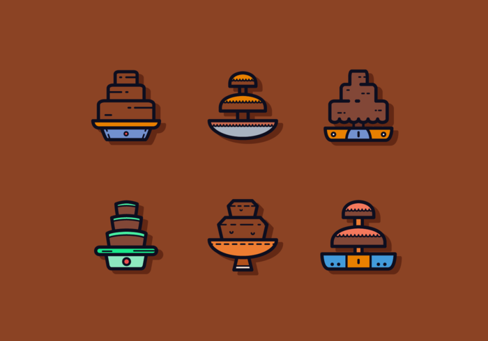 Free Chocolate Fountain Vectors