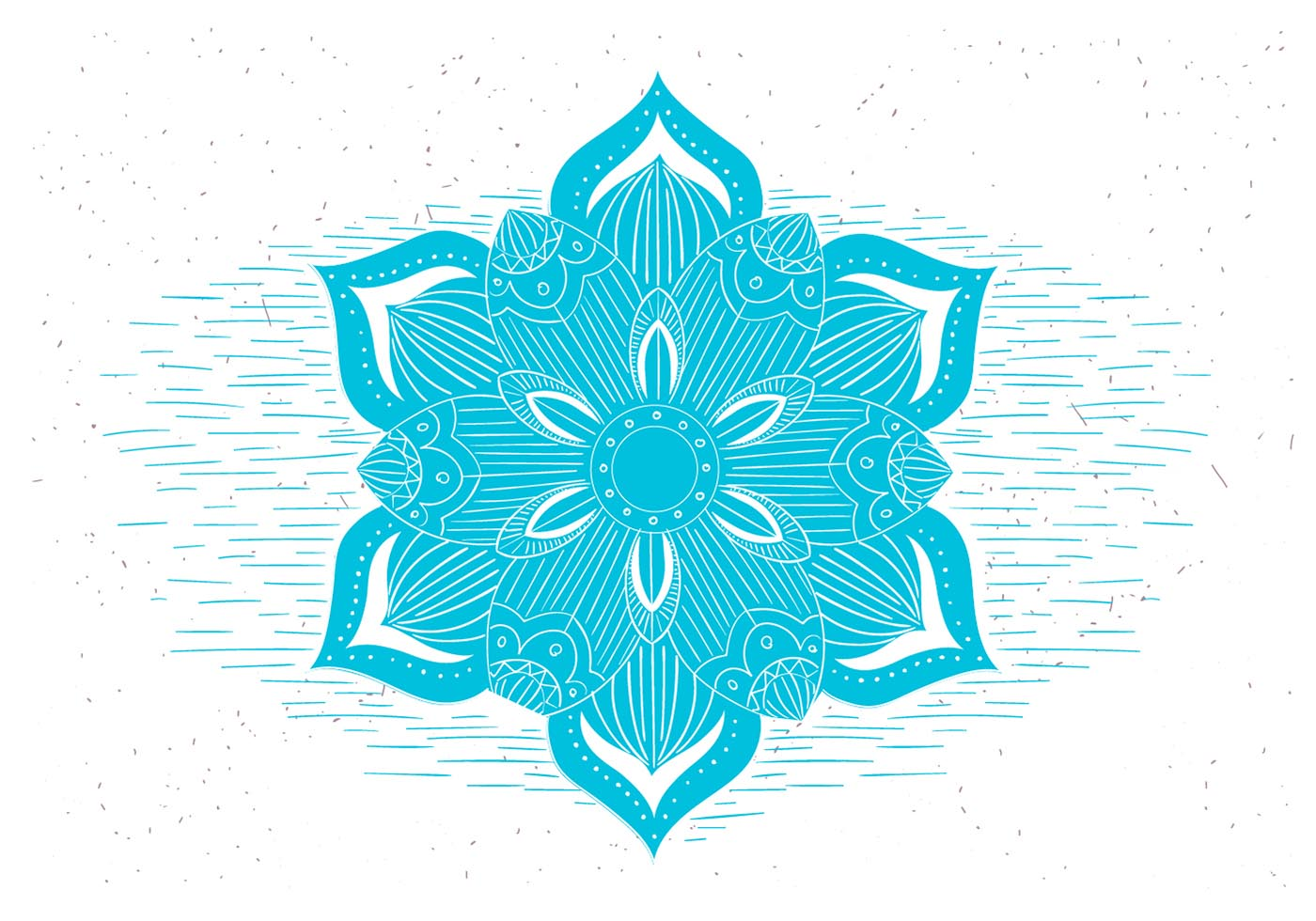 Free Vector Flower Symbol