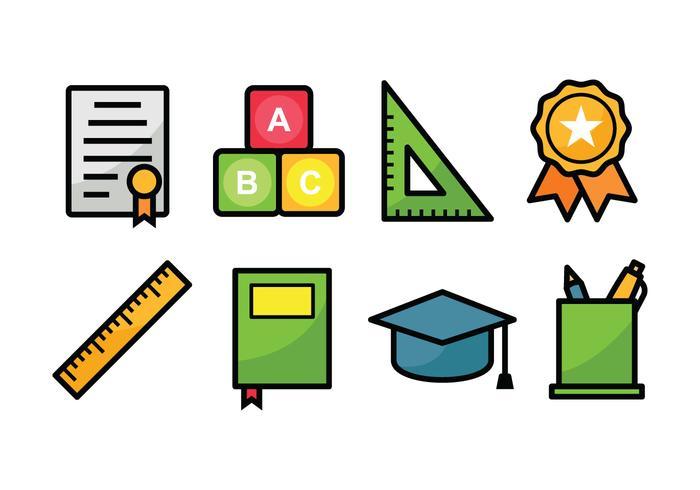 Onderwijs Icon Set