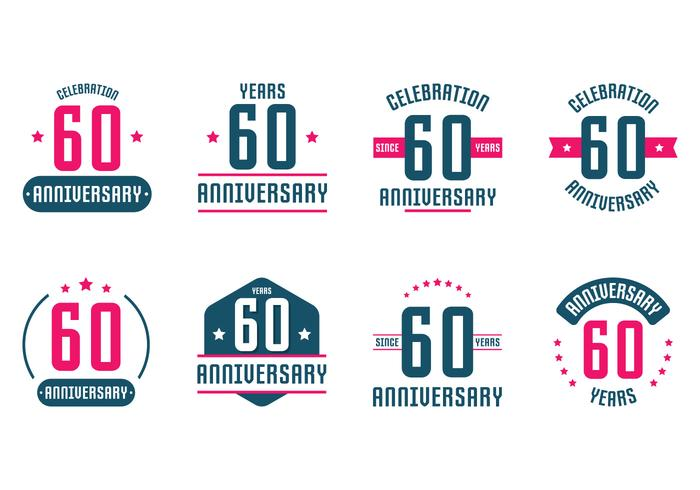 60th Anniversary Signs