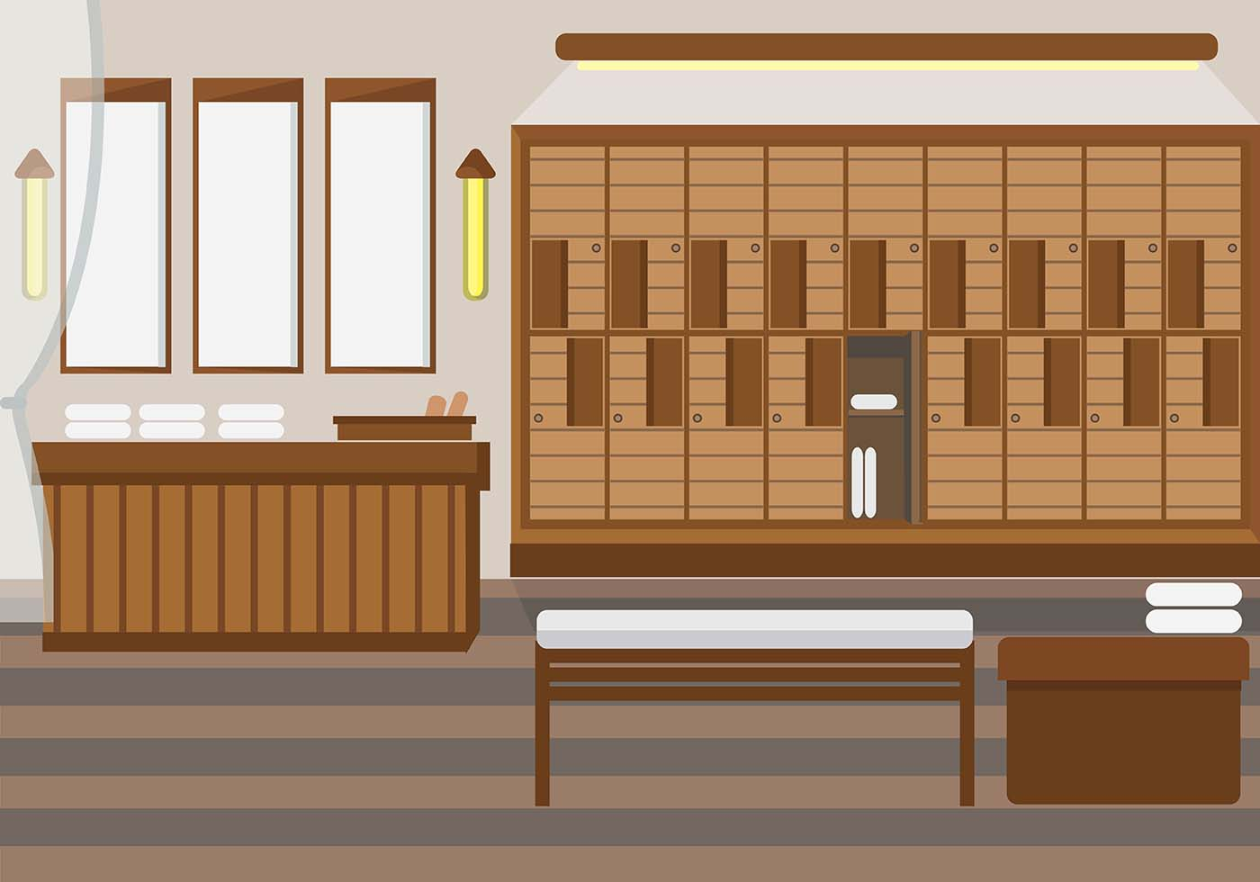 Dressing Room Spa Vector Download Free Vector Art Stock Graphics