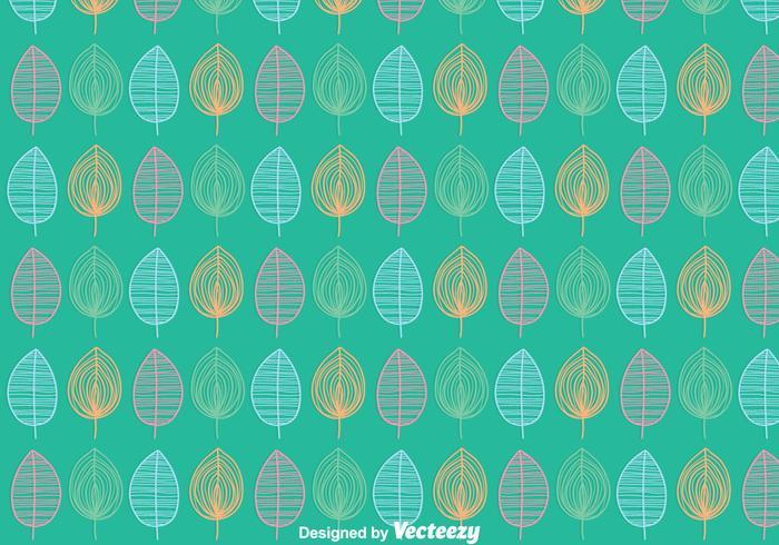 Folhas do fundo do teste padrão do ornamento