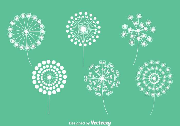 Dandelions Collection Vectors