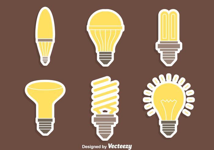 Nice Light Lamp Vectors