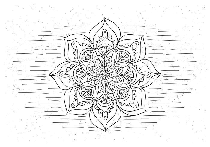 Gratis Symbol Flower Vector