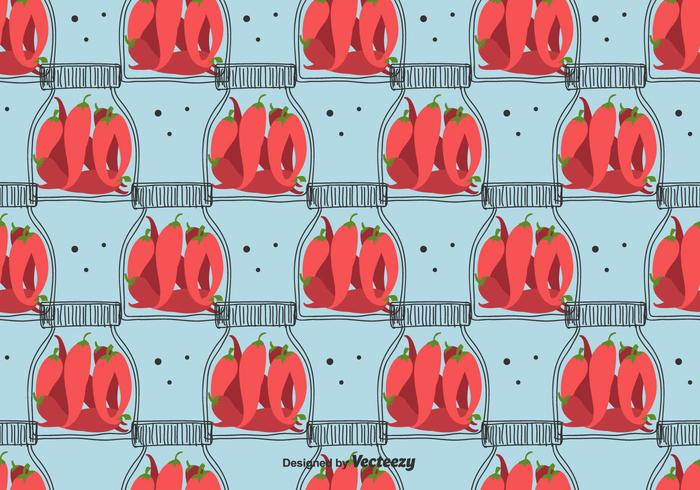 Pickled Chili Pepper Pattern