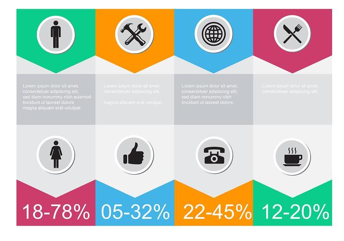 free vector infographic icons download free vector art stock