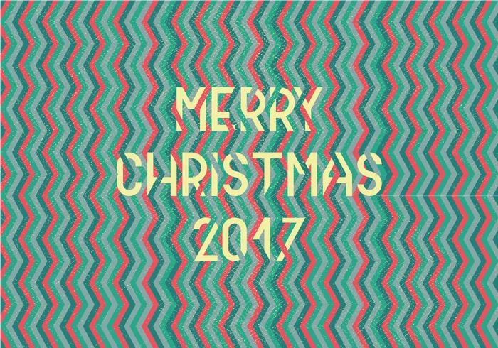 Vector Feliz Navidad Chevron