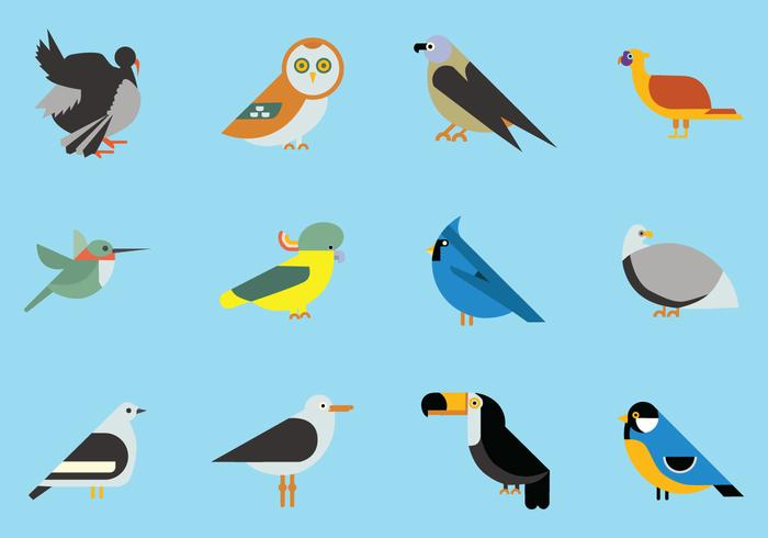 Las aves Icon Collection