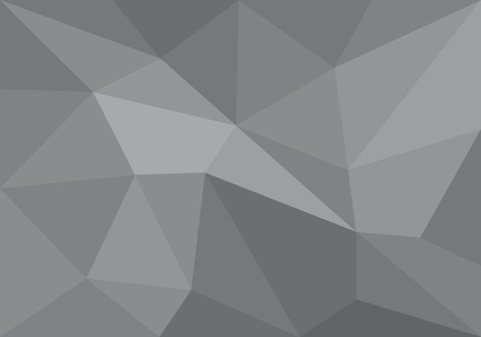 Lowpoly Grey Gradient