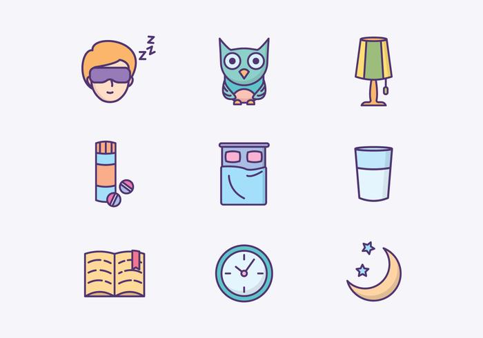 Free Sleeping Icons