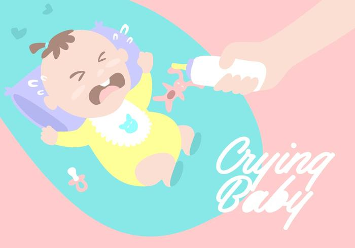 Pleurer Contexte bébé