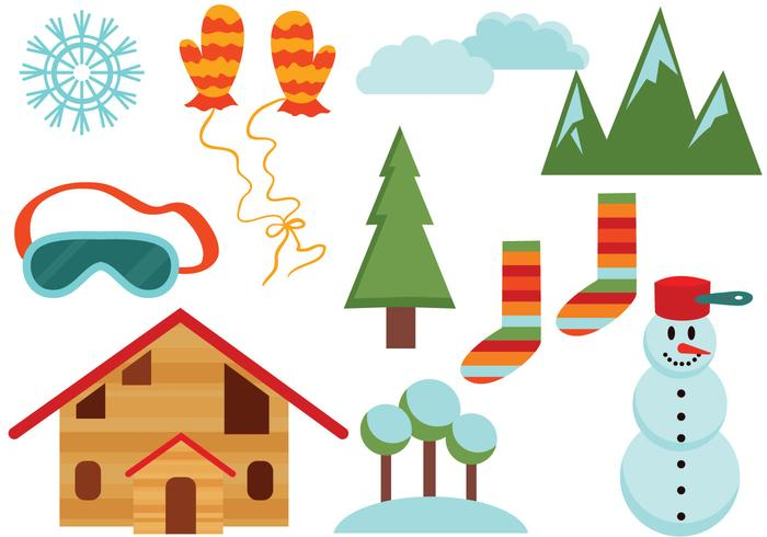 Free Winter Vectors