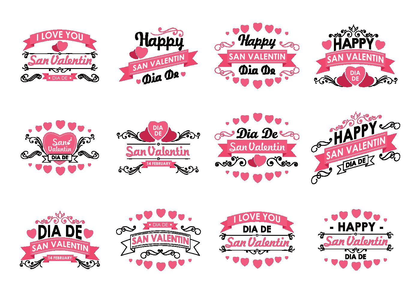 San Valentin Design - Download Free Vectors, Clipart ...